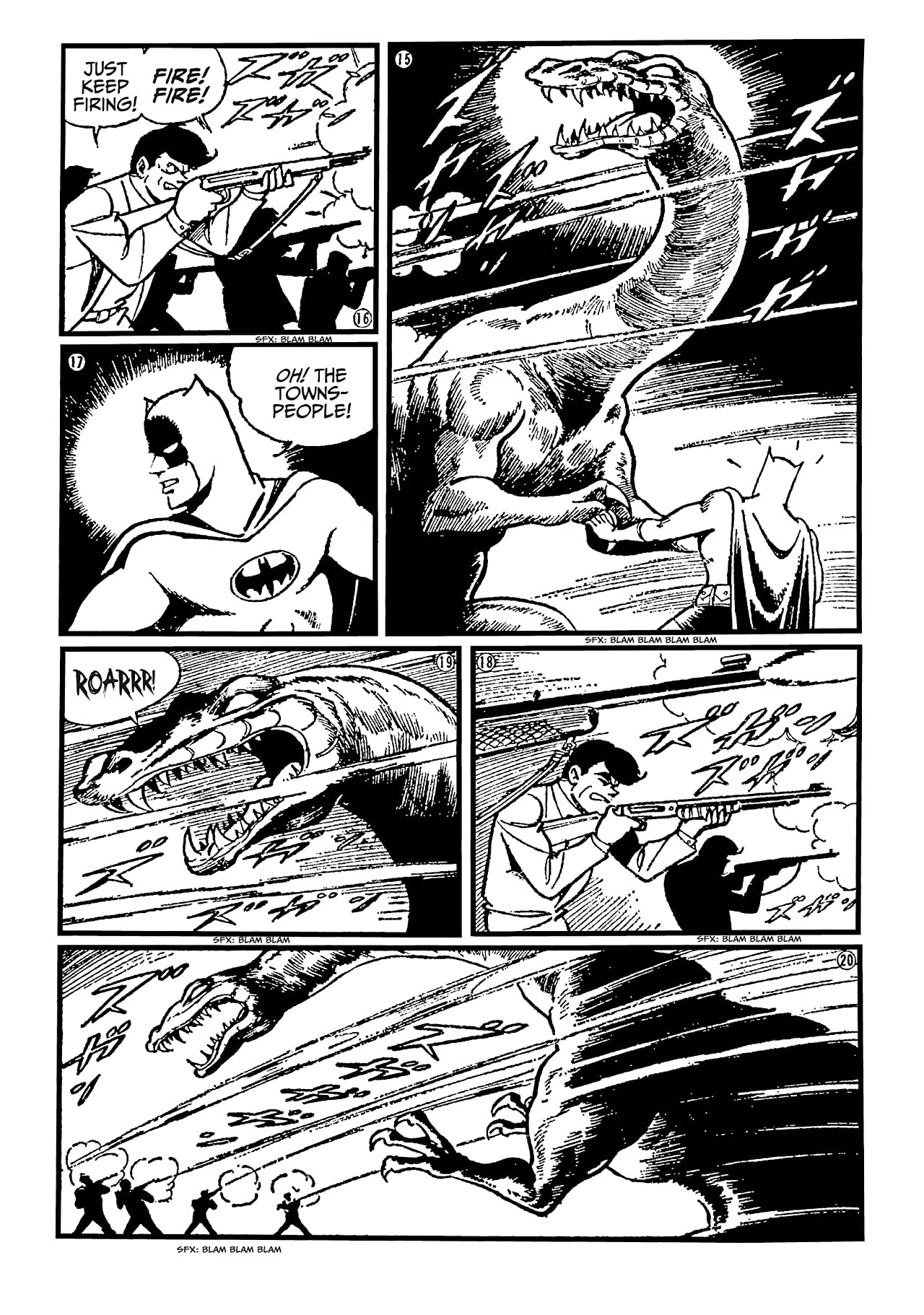 Batman: The Jiro Kuwata Batmanga #38