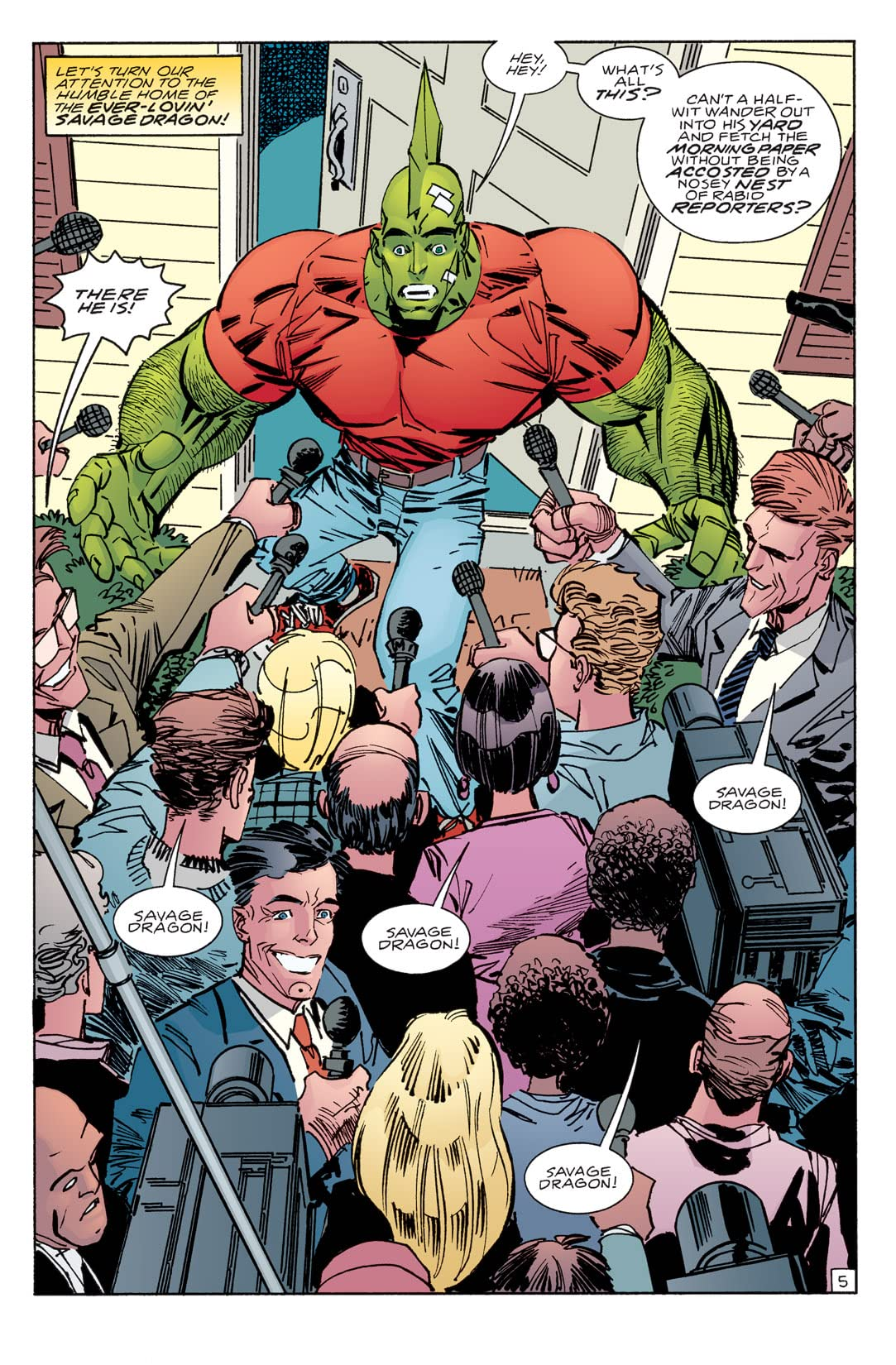 Savage Dragon #118