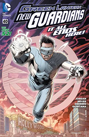 Green Lantern: New Guardians (2011-2015) #40