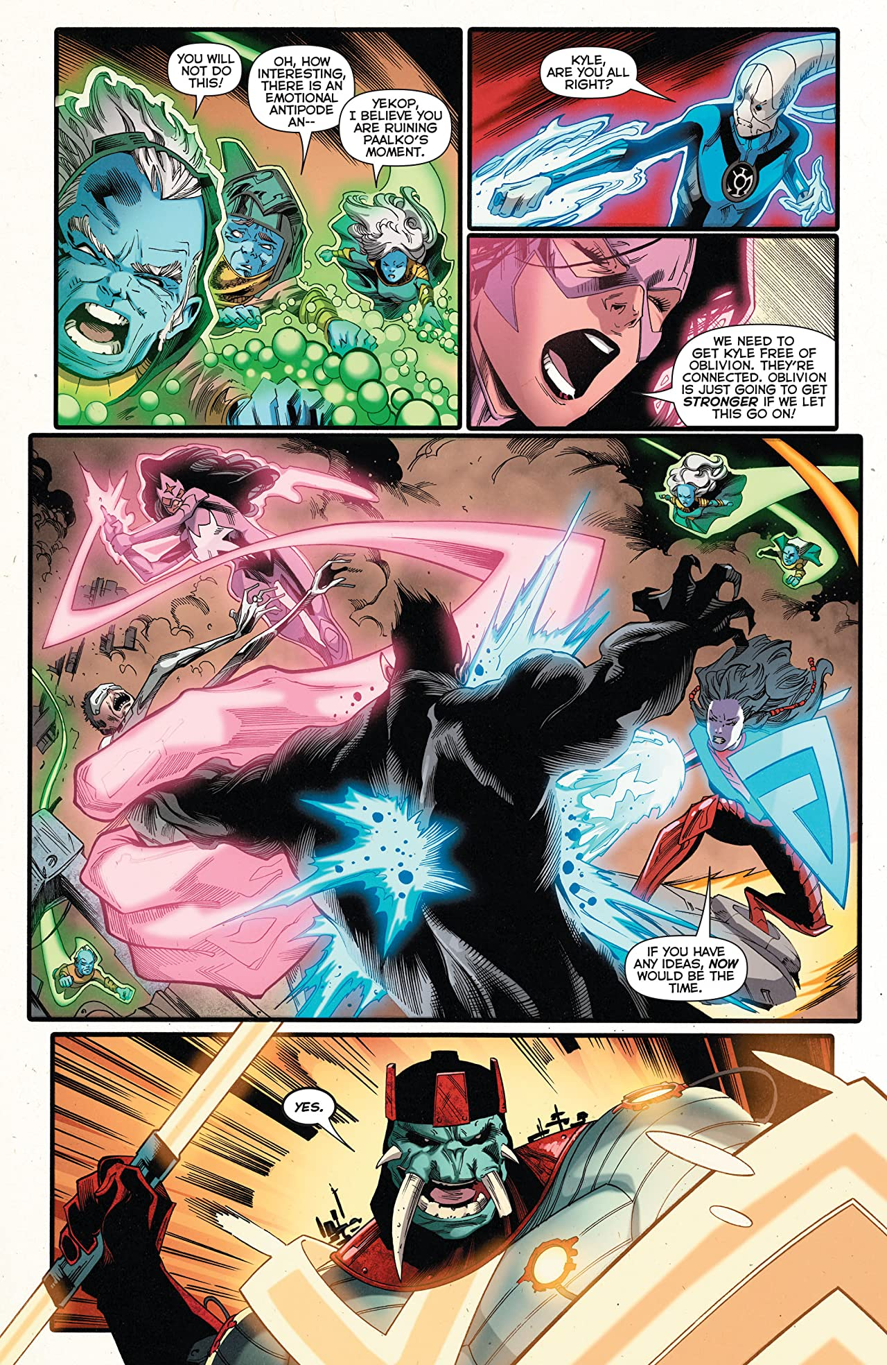 Green Lantern: New Guardians (2011-2015) #40