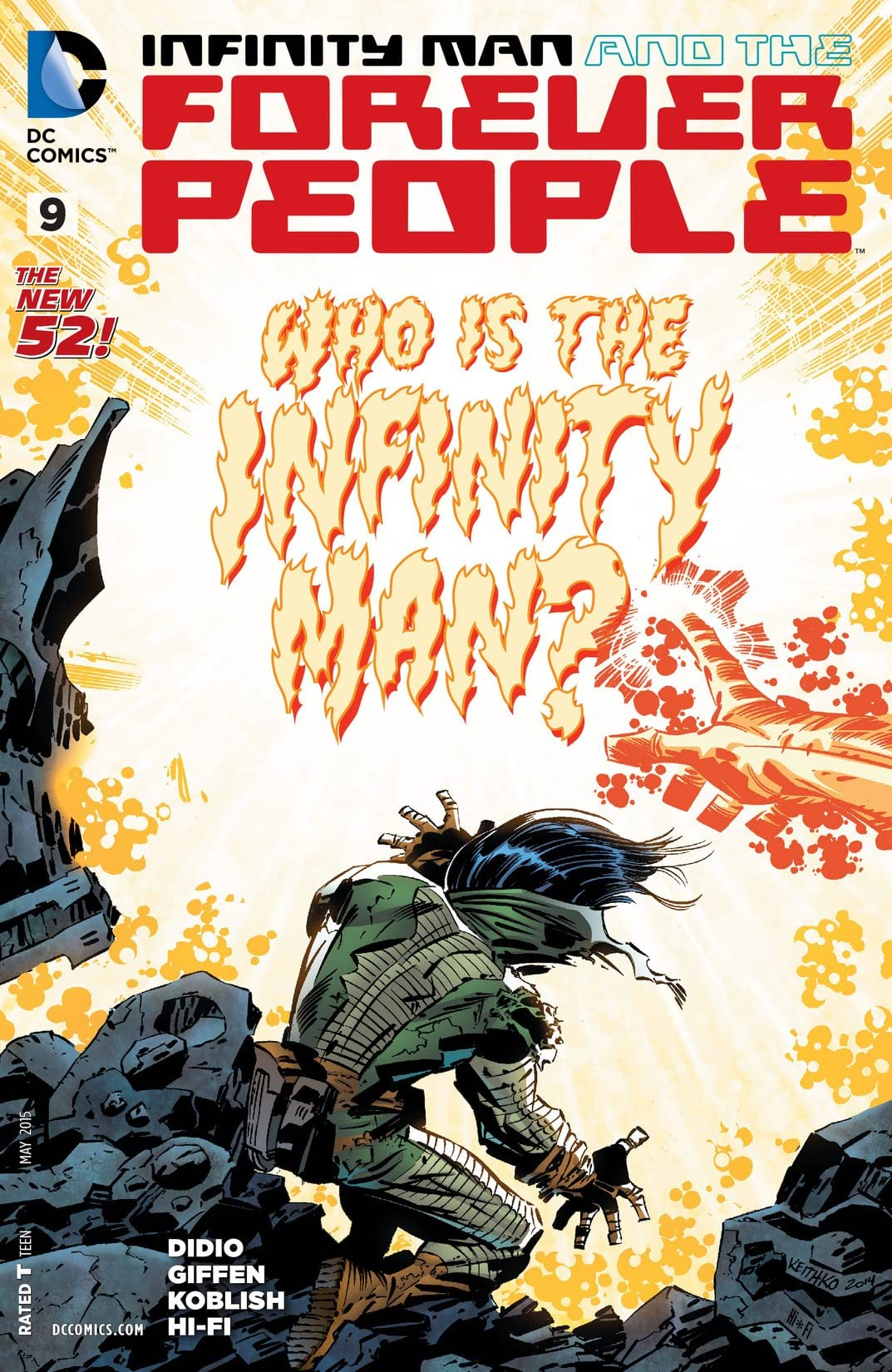 Infinity Man and the Forever People (2014-2015) #9
