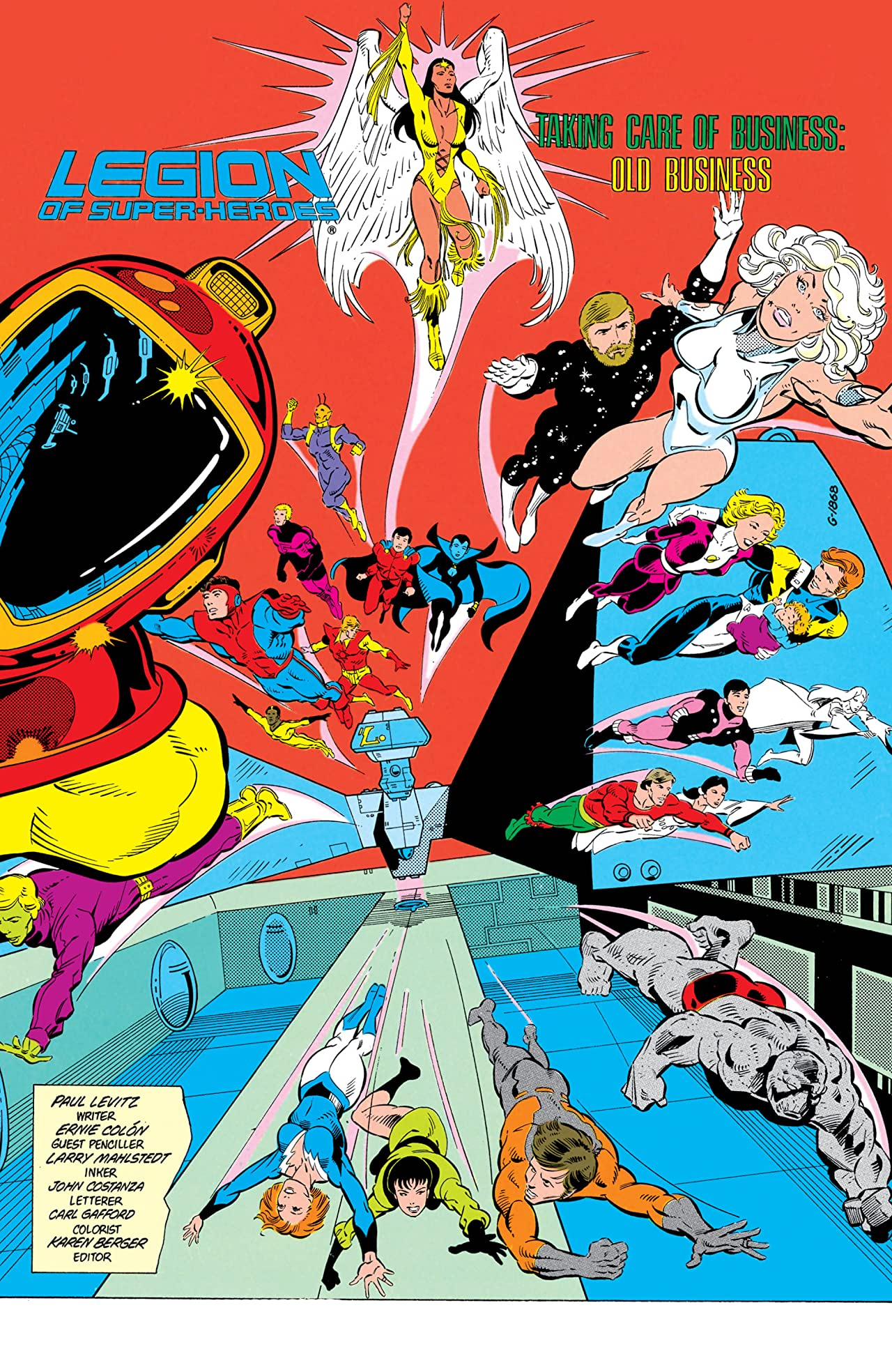 Legion of Super-Heroes (1984-1989) #11