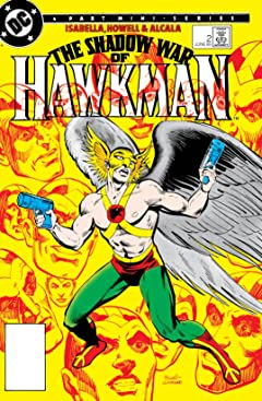 The Shadow War of Hawkman (1985) #2