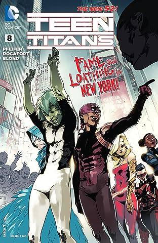 Teen Titans (2014-2016) No.8