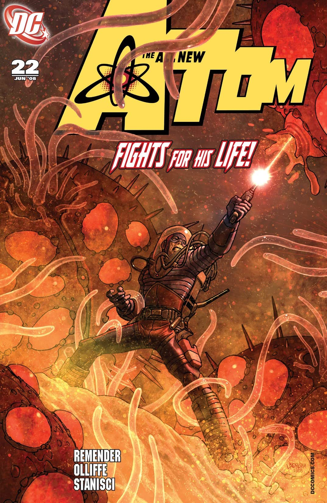 The All New Atom (2006-2008) #22