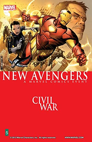 New Avengers Tome 5: Civil War
