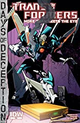 Transformers: More Than Meets the Eye (2011-) #38: Days of Deception