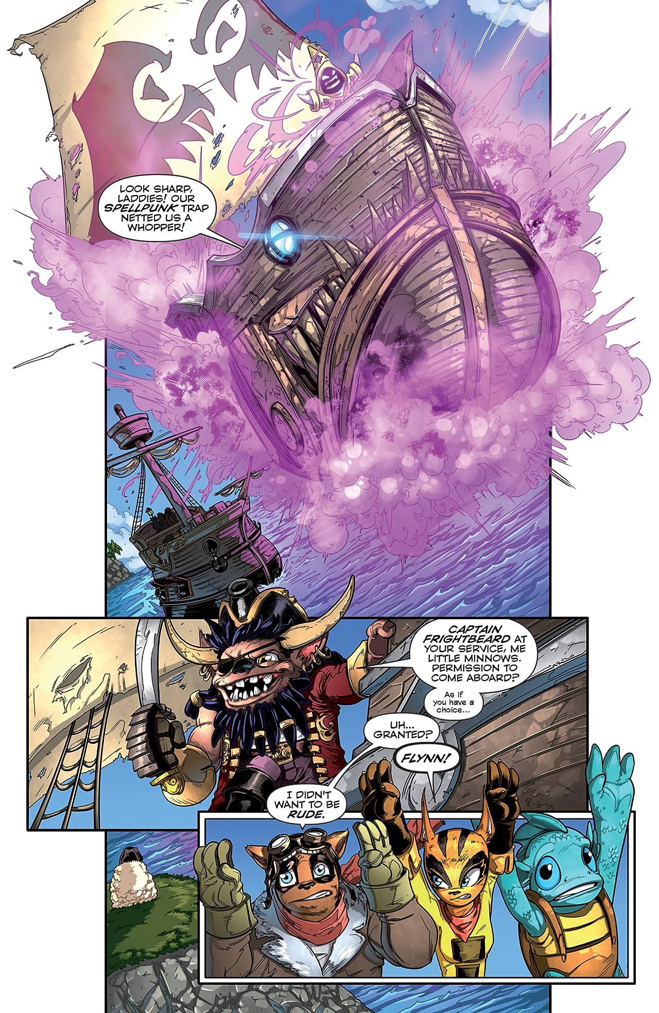 Skylanders #7: Return of the Dragon King Part 1