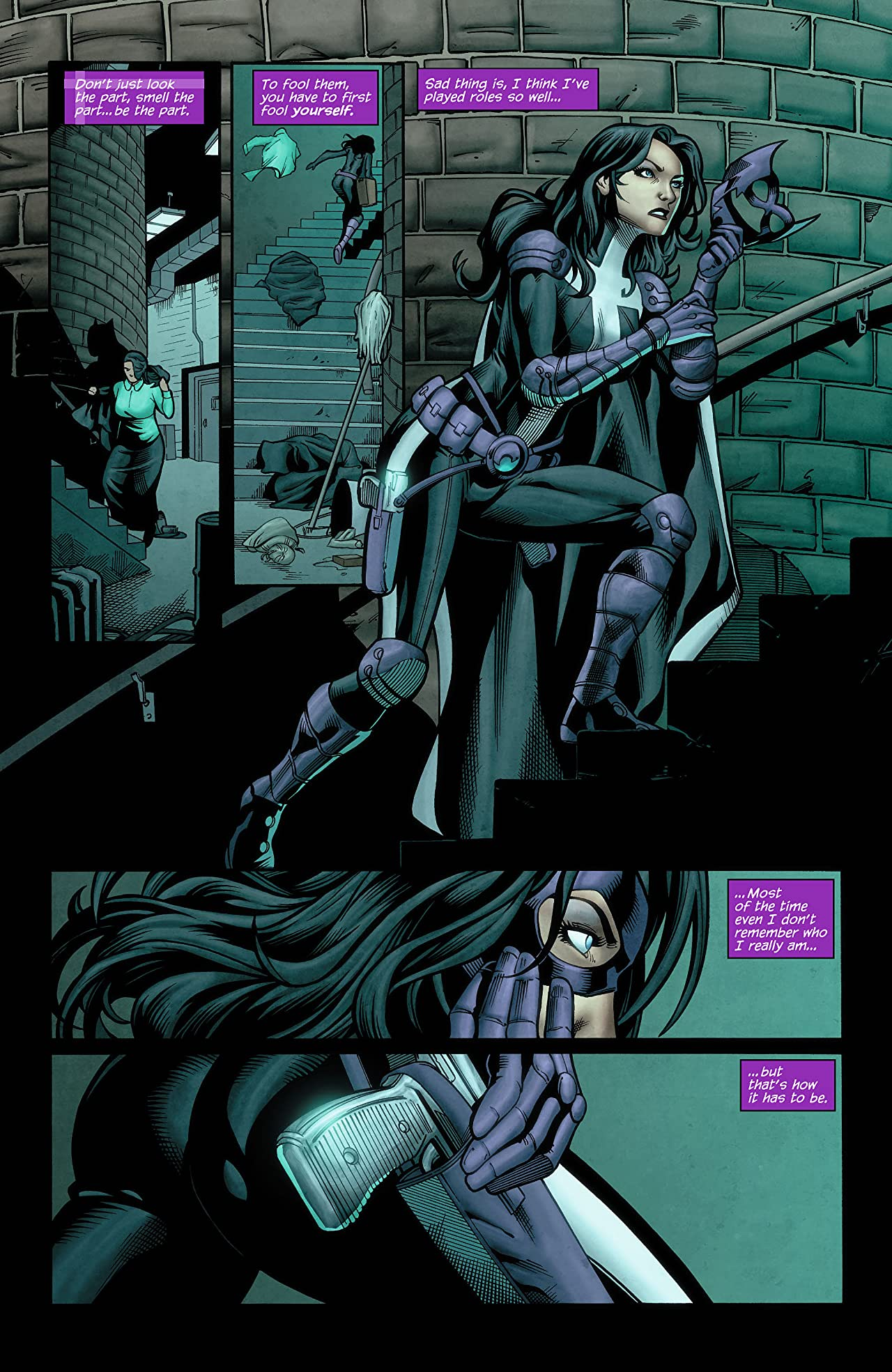 Huntress (2011-2012) #5 (of 6)