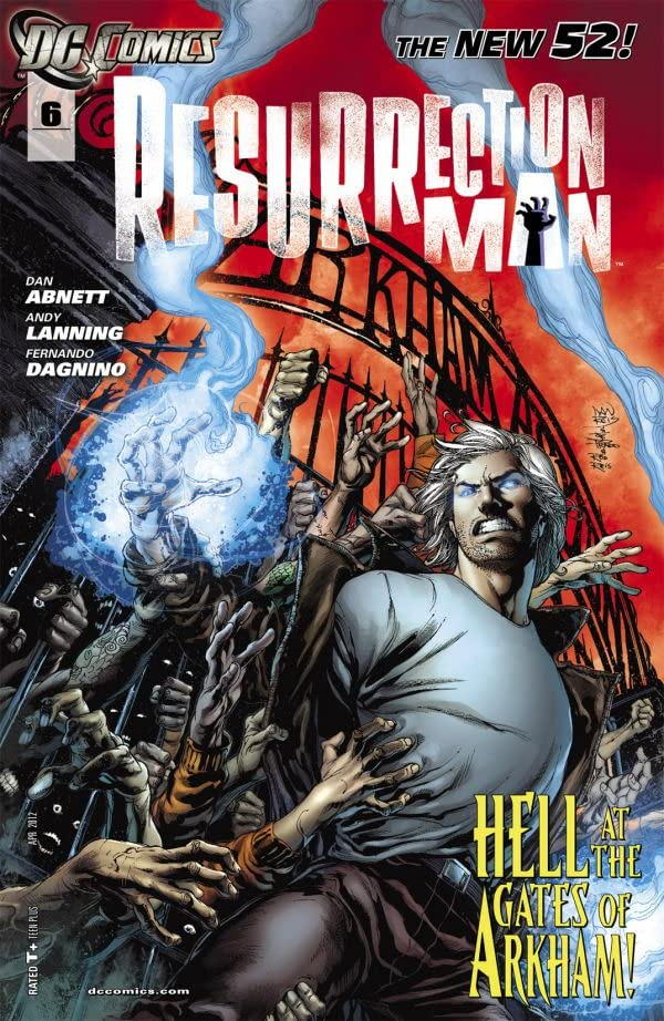 Resurrection Man (2011-2012) #6