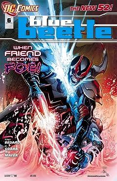 Blue Beetle (2011-2013) #6