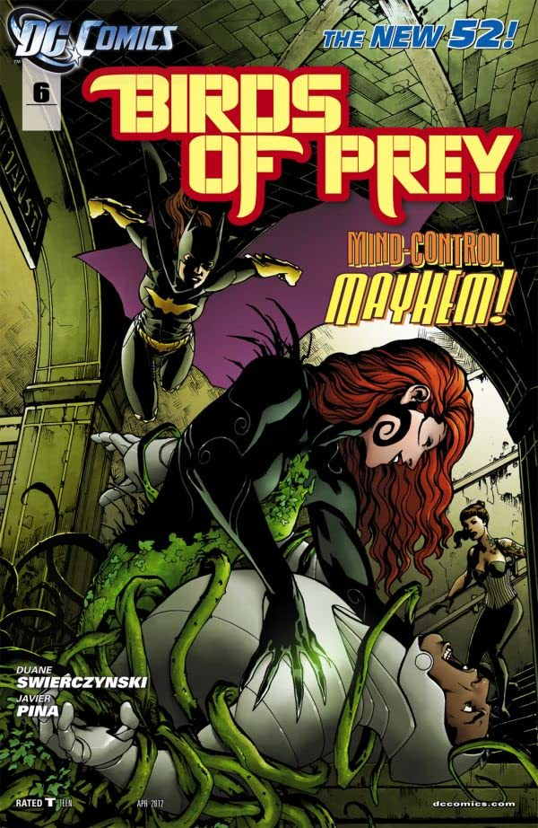 Birds of Prey (2011-2014) #6