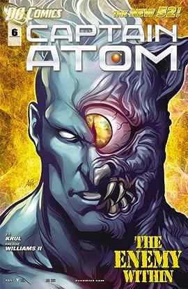 Captain Atom (2011-2012) #6