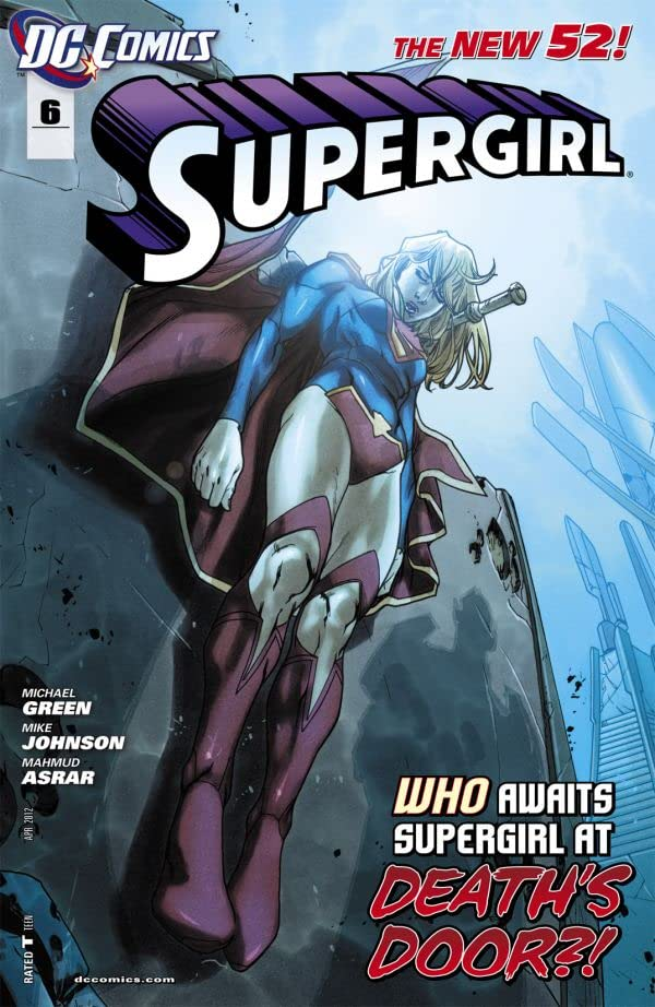 Supergirl (2011-2015) #6