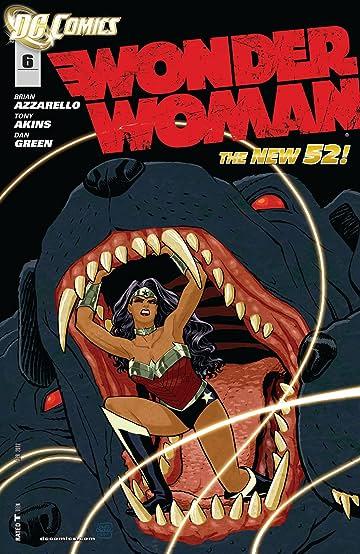 Wonder Woman (2011-) #6