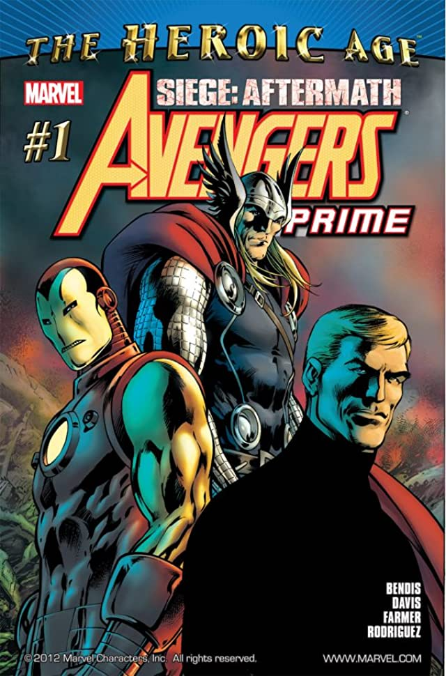 Avengers Prime #1