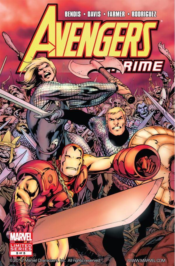 Avengers Prime #5 (of 5)