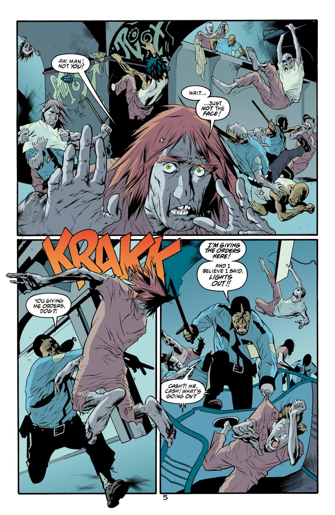 Arkham Asylum: Living Hell #4 (of 6)