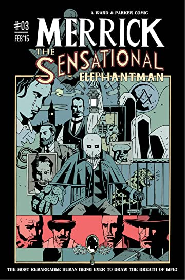 Merrick: The Sensational Elephantman #3