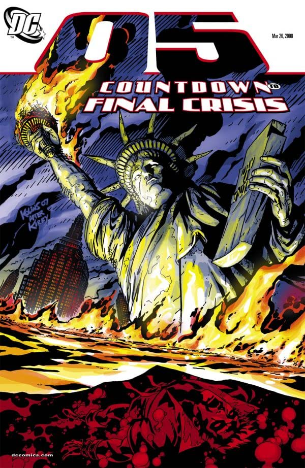 Countdown to Final Crisis #5