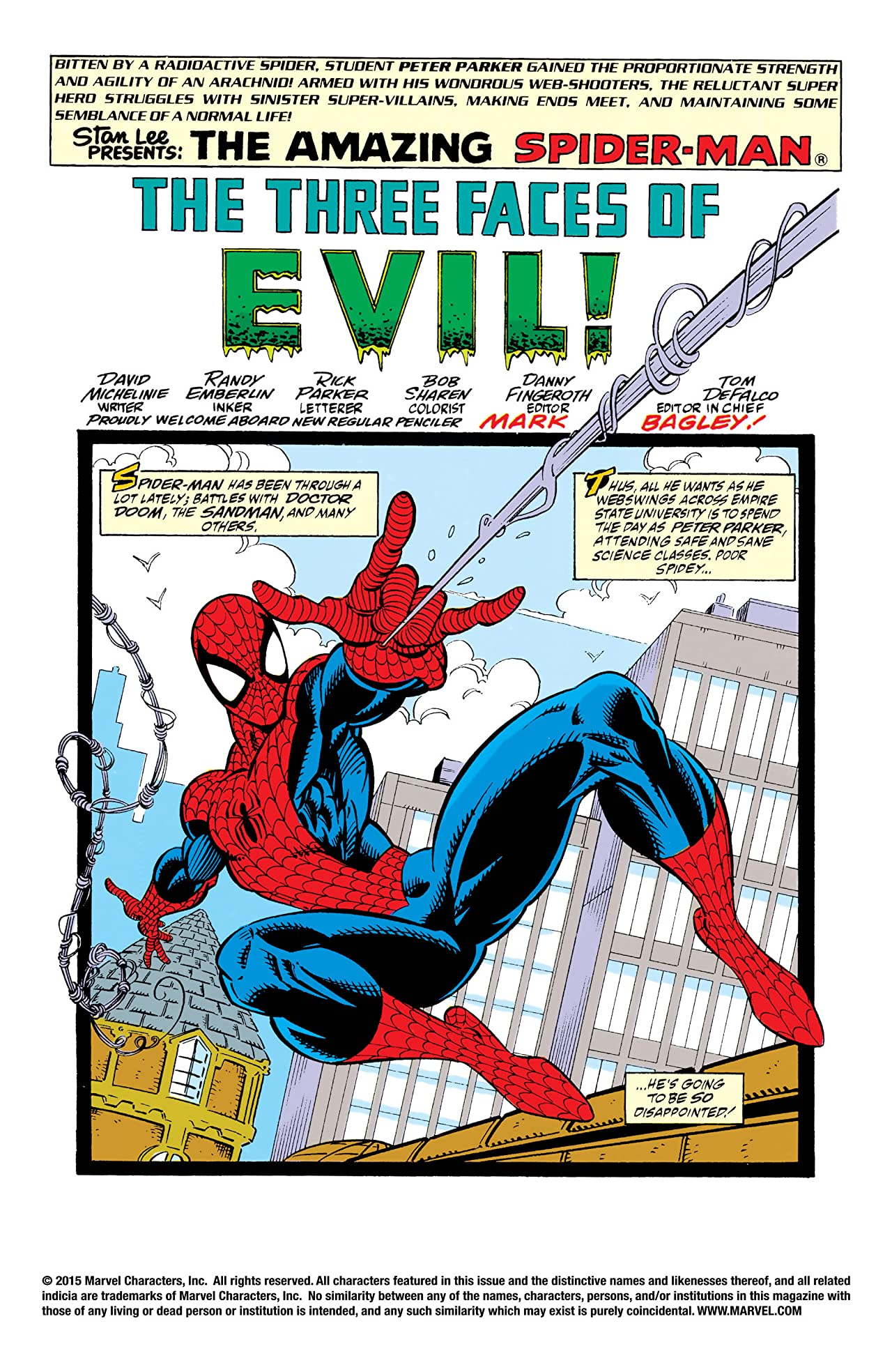 Amazing Spider-Man (1963-1998) #351
