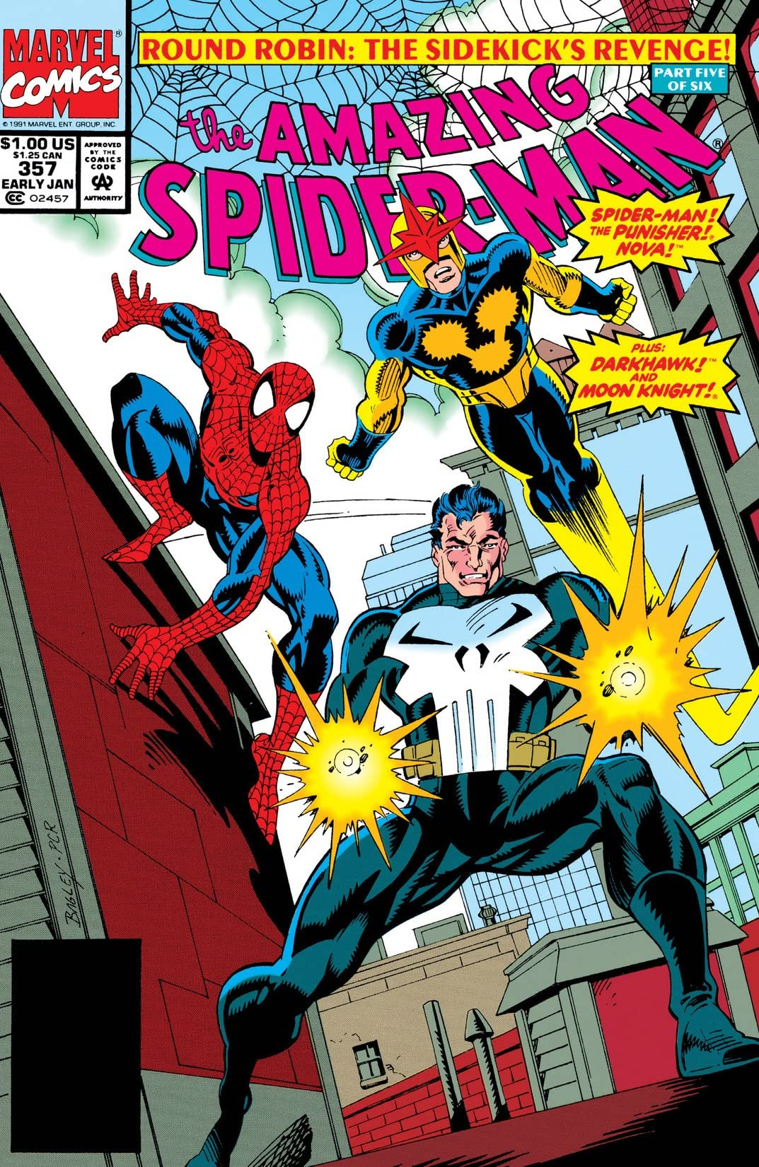 Amazing Spider-Man (1963-1998) #357