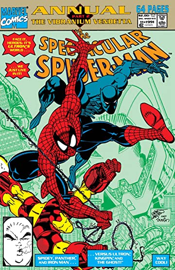 Peter Parker, The Spectacular Spider-Man (1976-1998) Annual #11