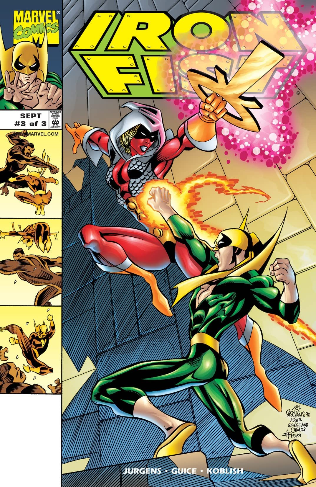 Iron Fist (1998) #3 (of 3)
