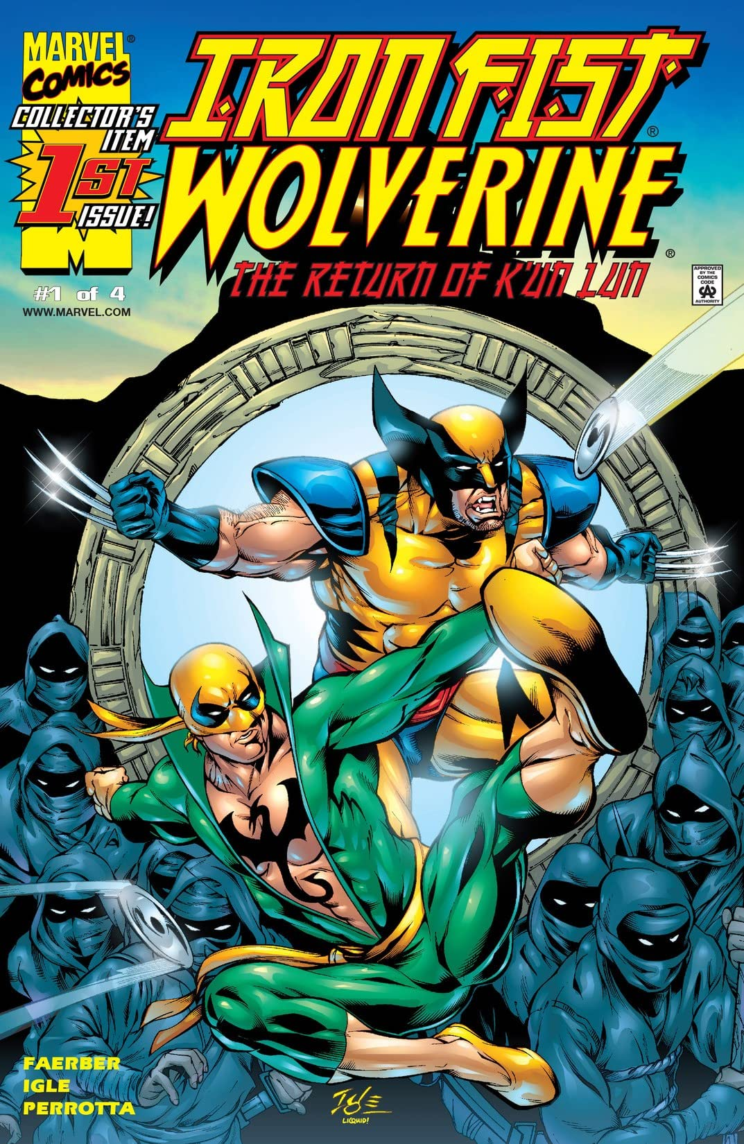 Iron Fist/Wolverine (2000-2001) #1 (of 4)