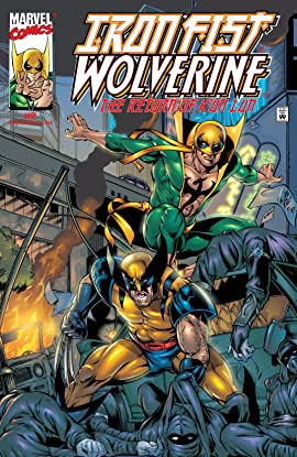 Iron Fist/Wolverine (2000-2001) #2 (of 4)