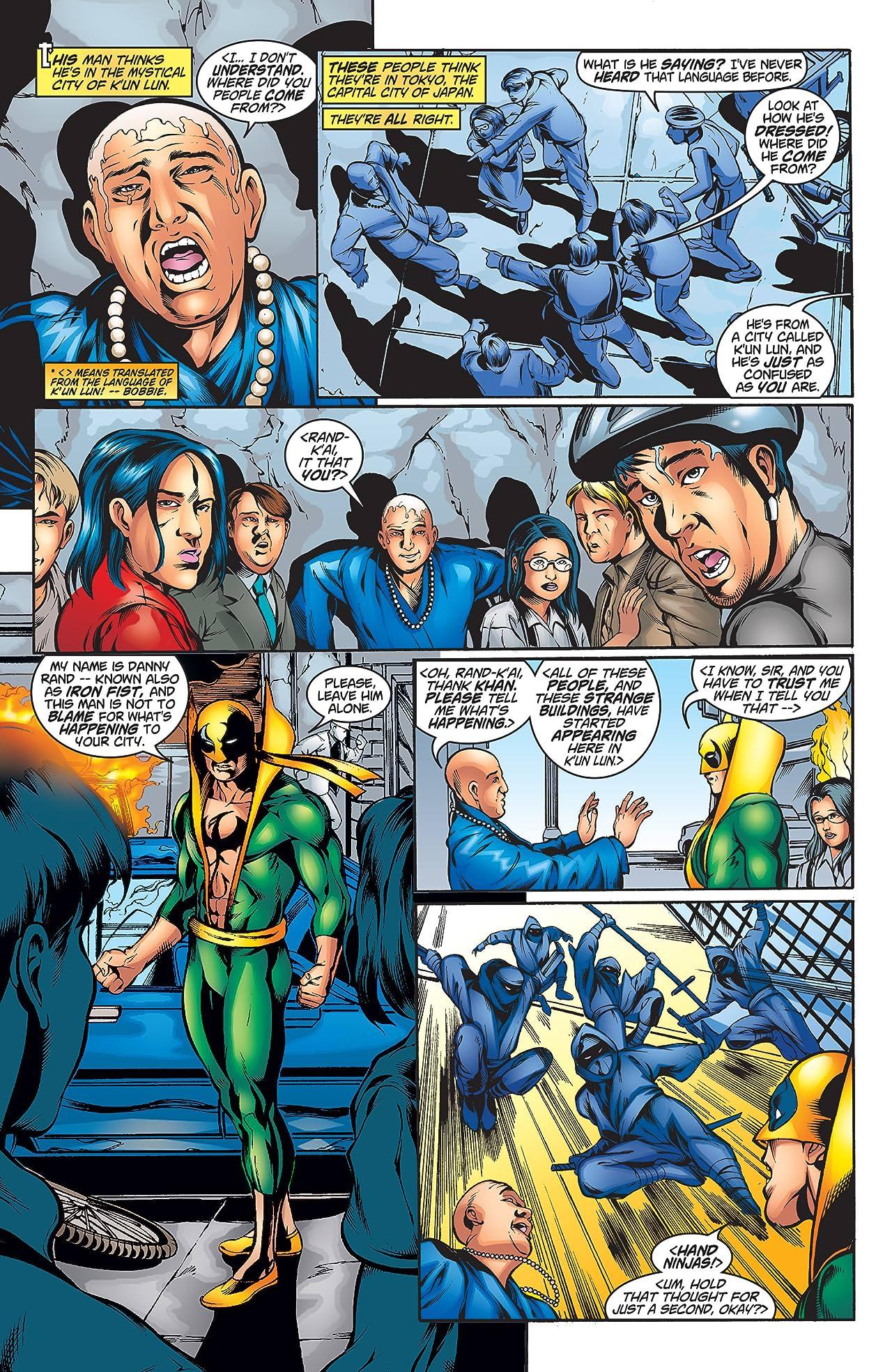 Iron Fist/Wolverine (2000-2001) #2 (of 4)