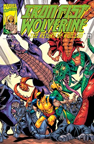Iron Fist/Wolverine (2000-2001) #3 (of 4)