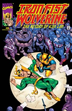 Iron Fist/Wolverine (2000-2001) No.4 (sur 4)