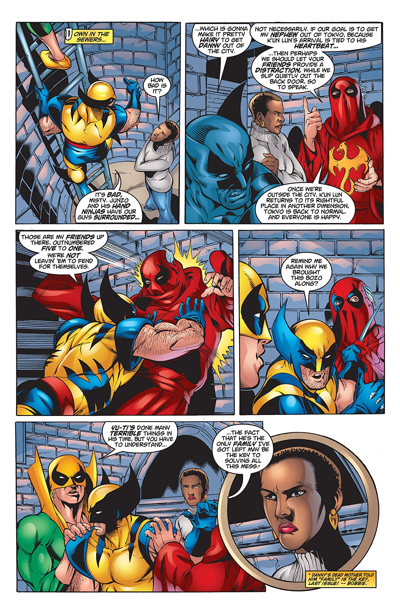 Iron Fist/Wolverine (2000-2001) #4 (of 4)