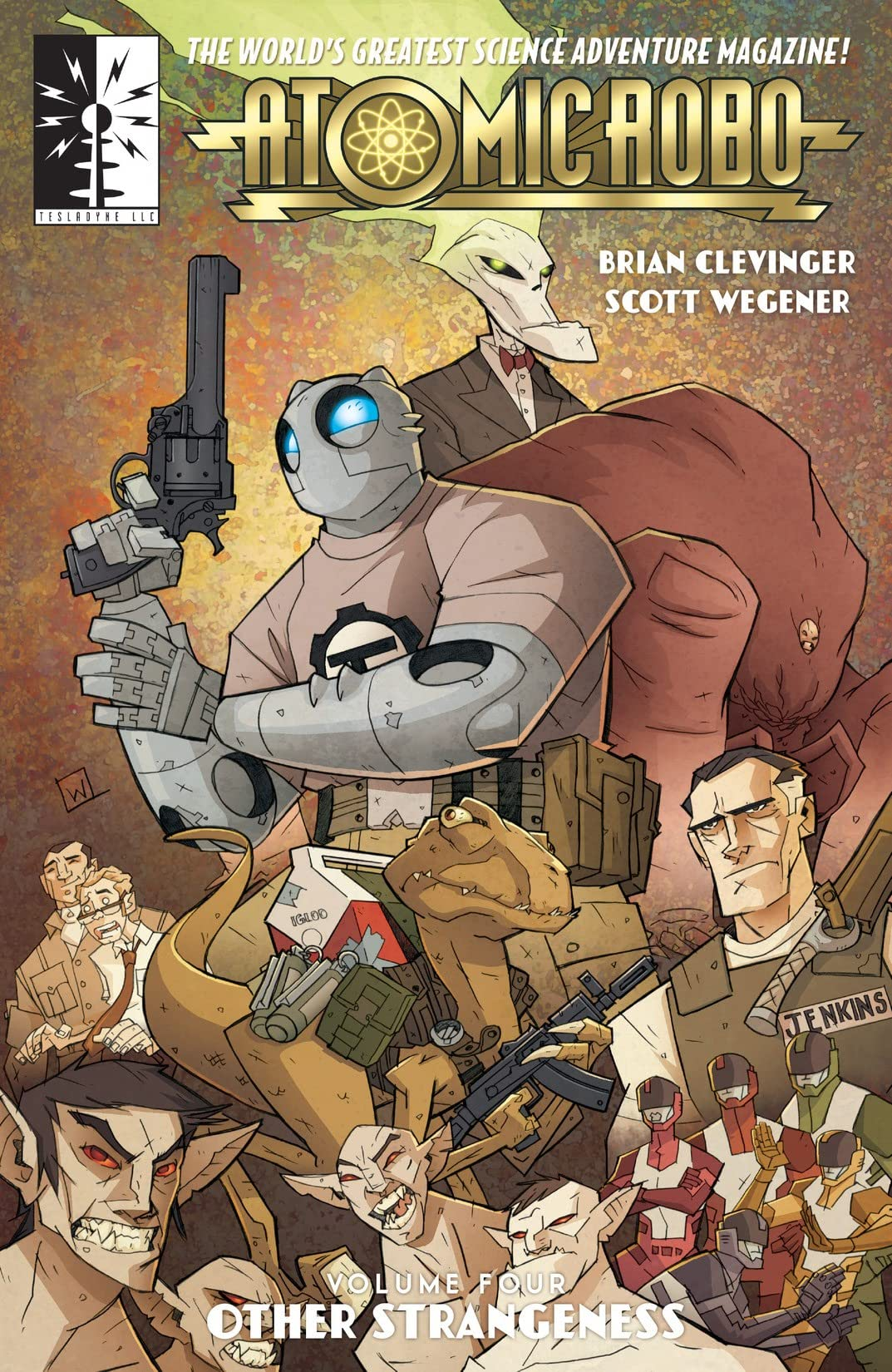 Atomic Robo & Other Strangeness