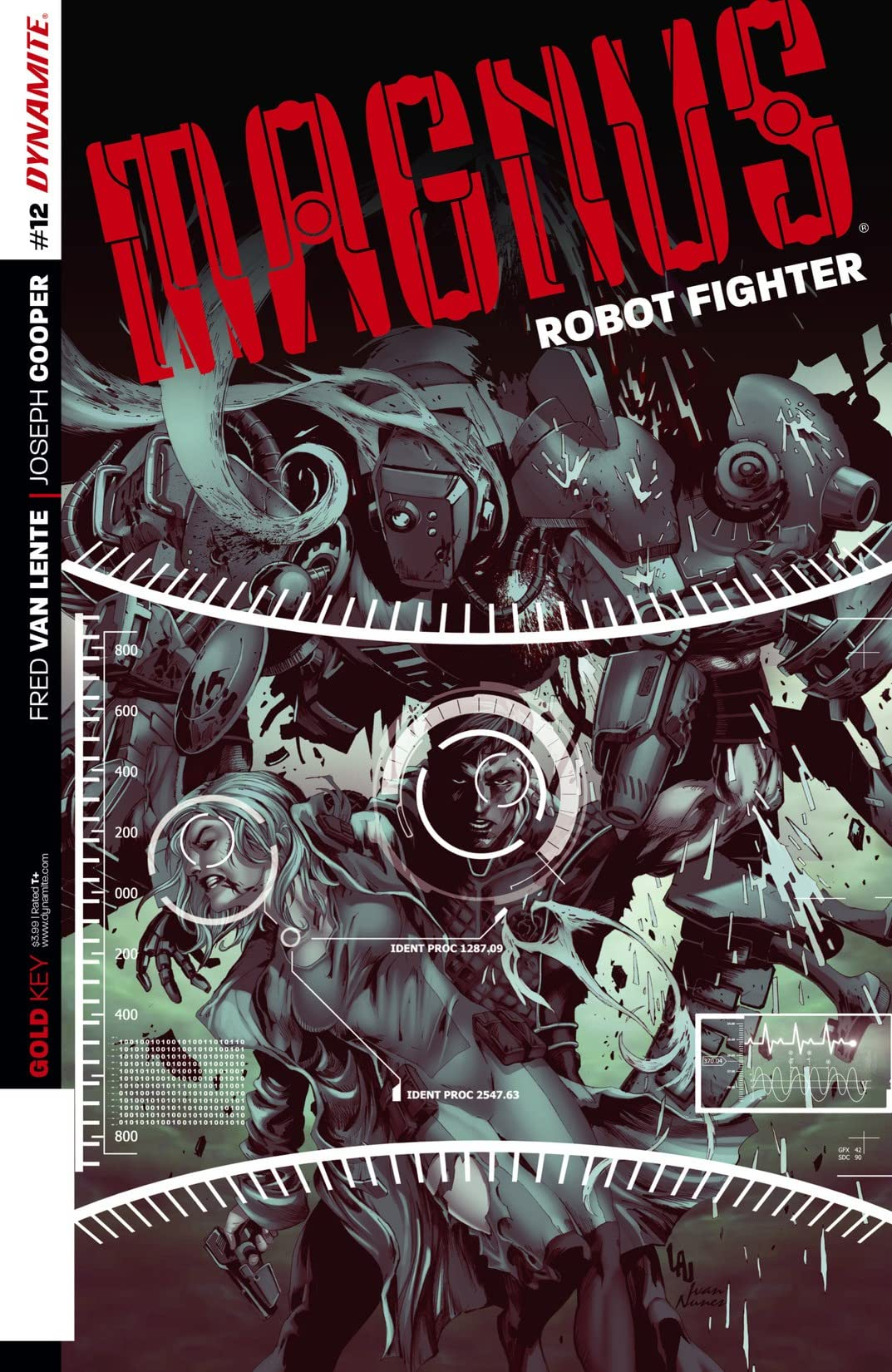 Magnus: Robot Fighter #12: Digital Exclusive Edition