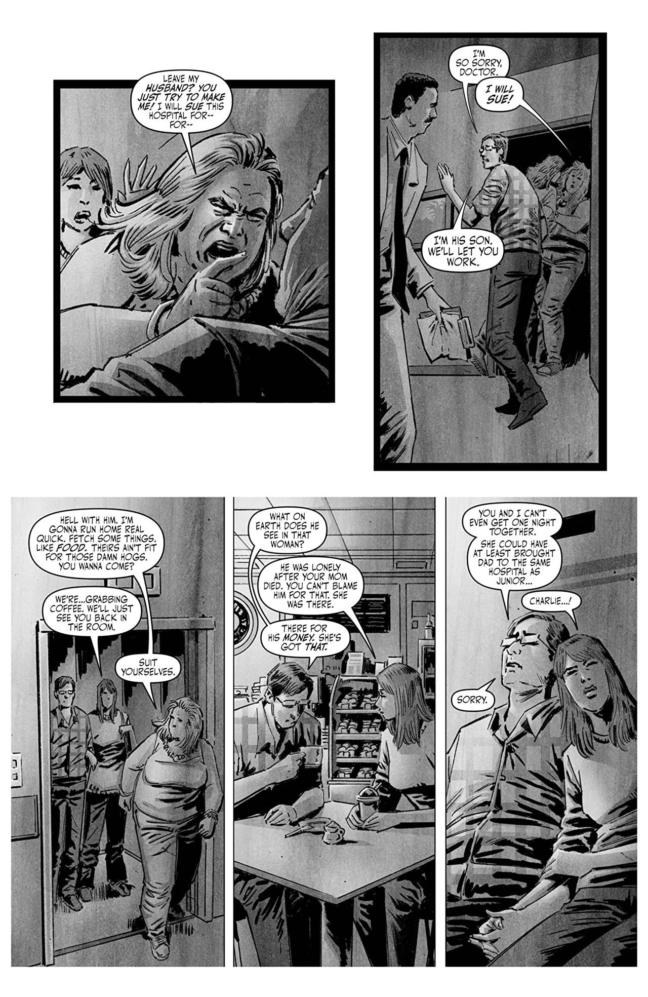 The Damnation of Charlie Wormwood #5 (of 5)