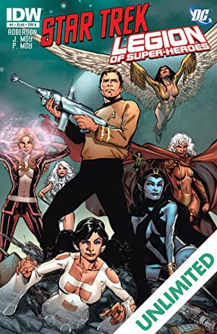 Star Trek/Legion of Super-Heroes #5 (of 6)