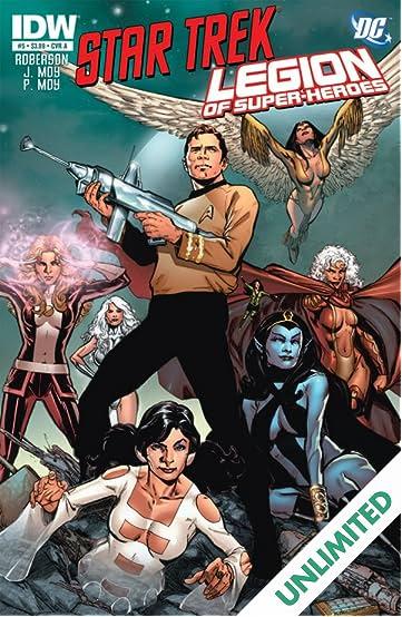 Star Trek/Legion of Super-Heroes #5 (of 6)