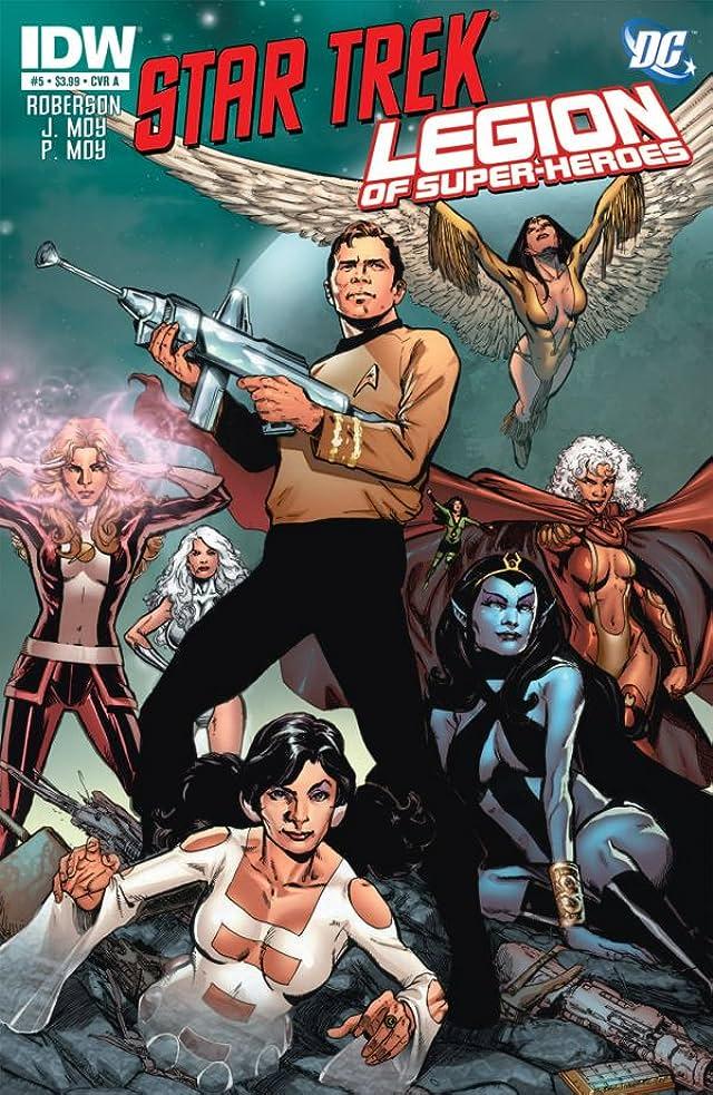 Star Trek/Legion of Super-Heroes #5