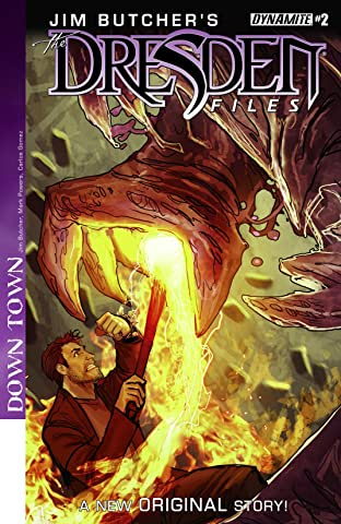 Jim Butcher's The Dresden Files: Down Town No.2 (sur 6): Digital Exclusive Edition