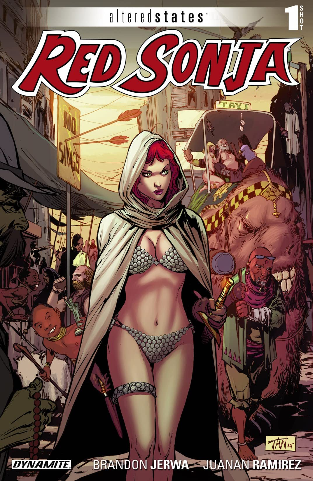 Altered States: Red Sonja #1: Digital Exclusive Edition