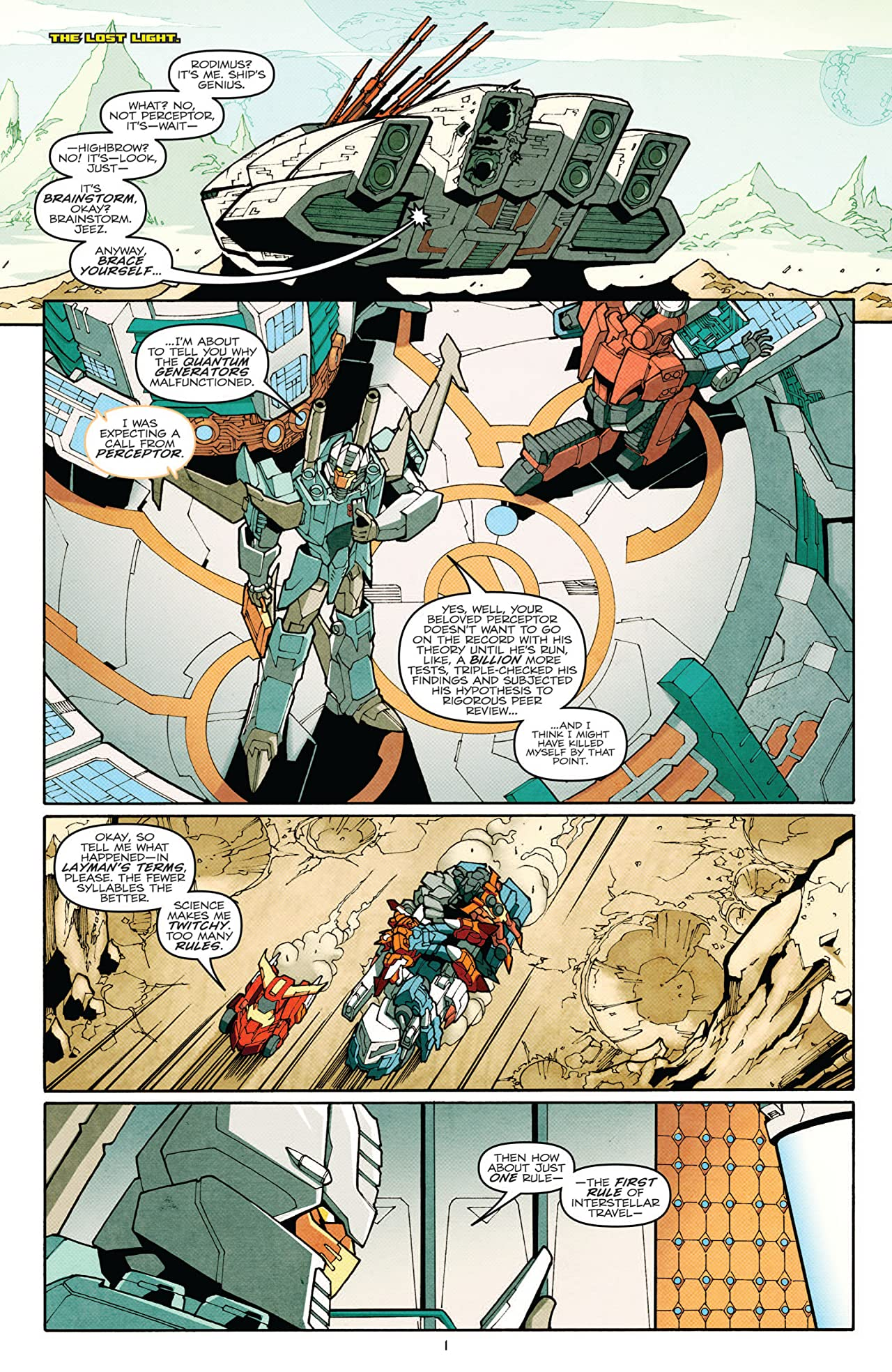 Transformers: More Than Meets the Eye (2011-) #2