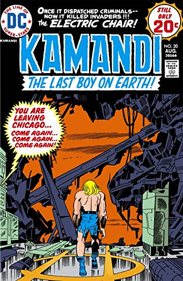 Kamandi: The Last Boy on Earth (1971-1978) #20