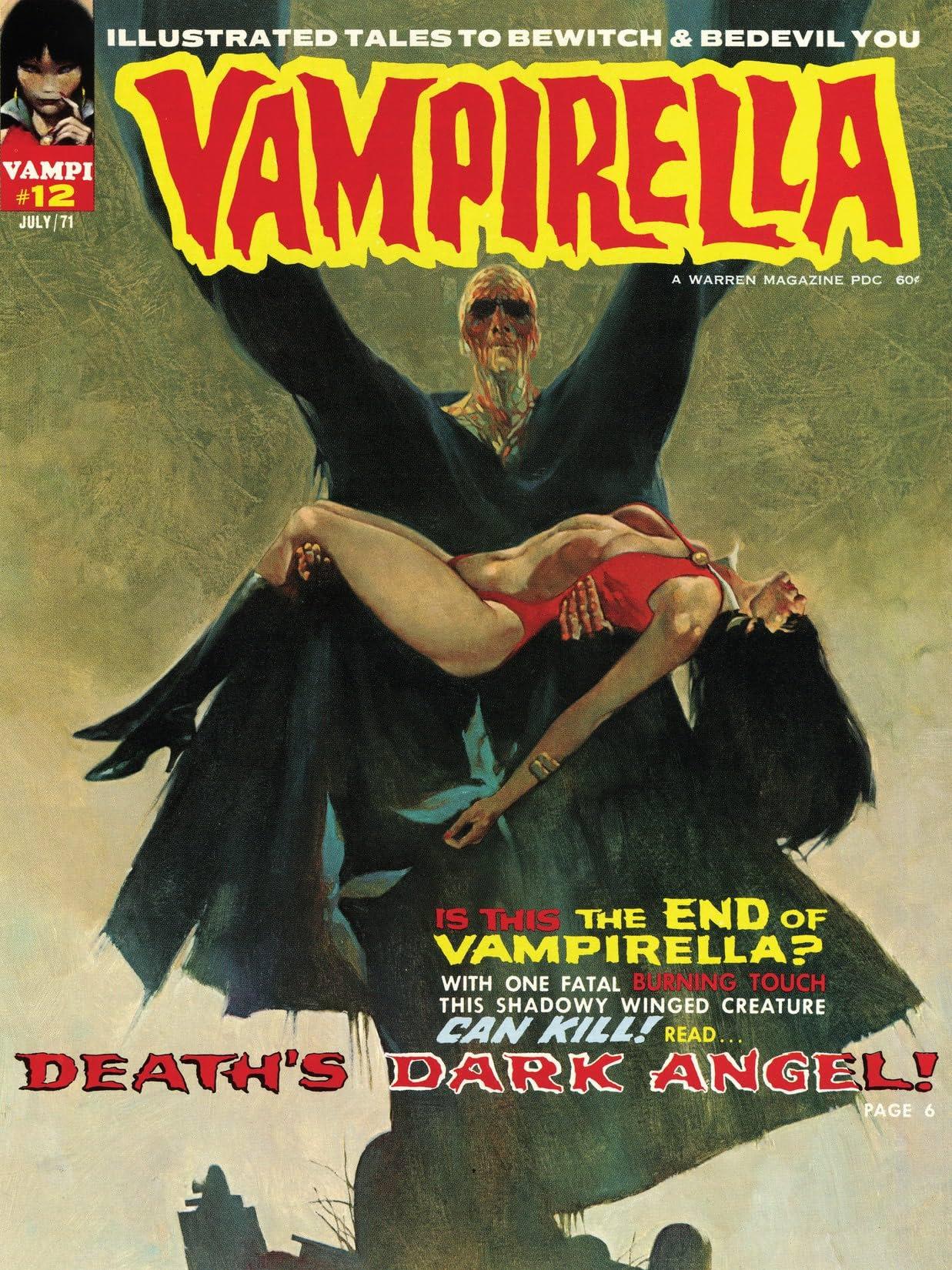 Vampirella (Magazine 1969-1983) #12