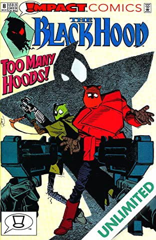 The Black Hood (Impact Comics) #8
