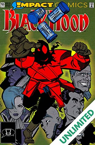 The Black Hood (Impact Comics) #10