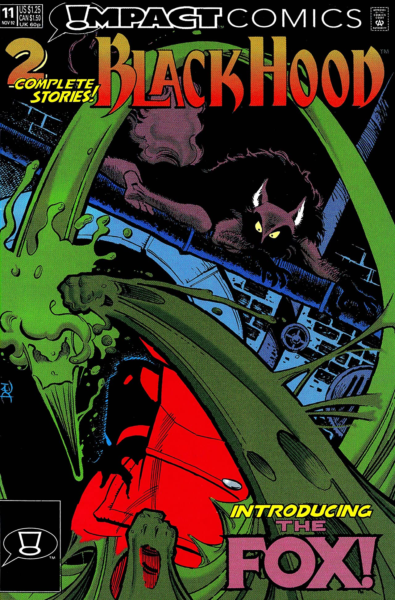 The Black Hood (Impact Comics) #11