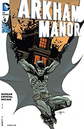 Arkham Manor (2014-2015) #6