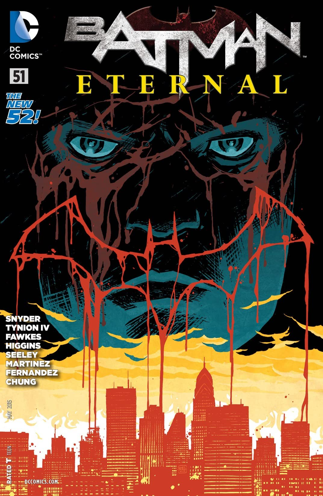 Batman Eternal (2014-2015) #51